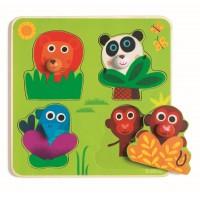Junglanimo puzzle DJ01033
