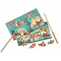 Fishing shark mágneses játék DJ01656