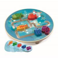 Aquarium készségfejlesztõ játék DJ01689