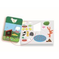 Edu stick animals készségfejlesztõ játék DJ08379