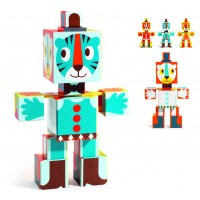 Totem cubes Grafico bébi játék DJ09111